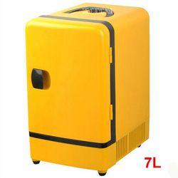 Doble Uso 12 V 7l mini nevera portátil coche multifunción calentador de viaje camping casa refrigerador del coche 36 -48 W Frigoríficos