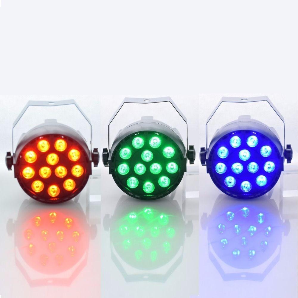 Aimbinet Luz de la Igualdad 12 LED RGB 3IN1 18 W 1.5 * 12LED Etapa iluminación DMX 512 Party Disco Club KTV Bar salón de Baile de La Boda DJ