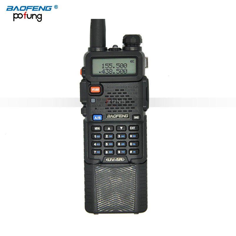 BaoFeng UV-5R Walkie Talkie 3800 mAh batterie Tragbare zweiwegradio UV5R weiträumige wireless 5 Watt Professionelle Dual CB radio