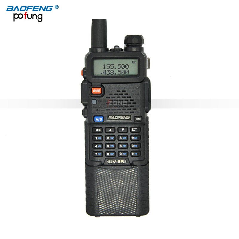 BaoFeng UV-5R Walkie Talkie 3800mAh battery  Portable two way radio UV5R  long-range wireless 5W  Professional Dual  CB radio