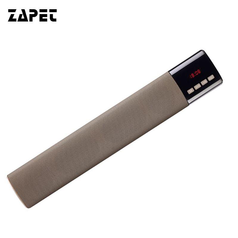 ZAPET Stereo Bass Bluetooth Speaker Power Bank 10W Wireless Speaker Home Theater Payty Speaker Soundbar Altavoz with LED Display