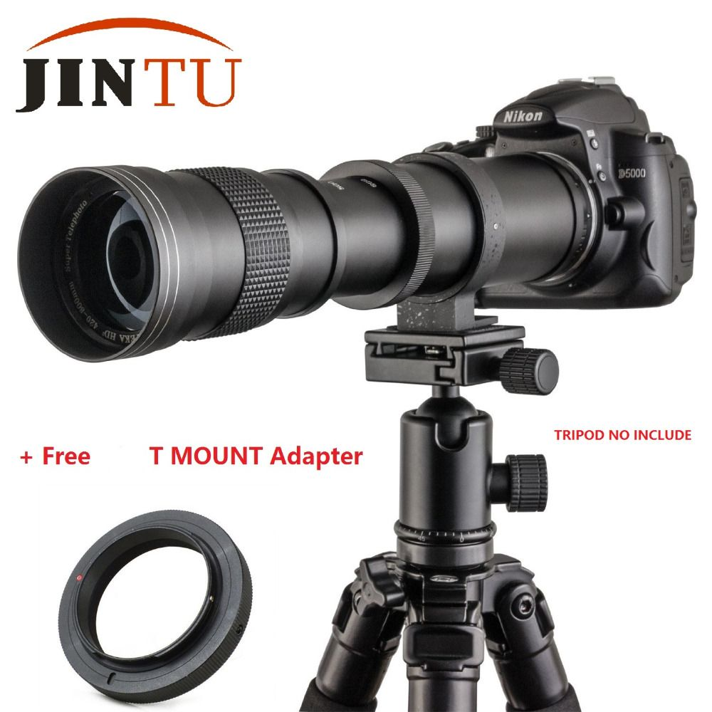 JINTU 420-800mm F/8.3-16 Camera Telephoto Lens Manual Zoom Lens for SONY NEX-5N NEX-7 NEX-C3 NEX-5R NEX-3 NEX-5 NEX-6 NEX-5T