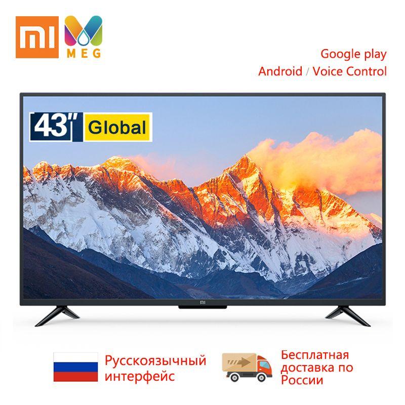 Télévision Xiao mi mi TV 4A Pro 43 pouces FHD Led TV 1GB + 8GB Smart android TV version mondiale | multi langue