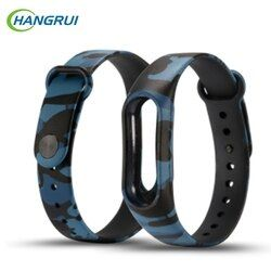 Colorful Silicone Wrist Band Bracelet Wrist Strap For Xiaomi Miband Mi band 1&1s Replacement Smart Band Accessories