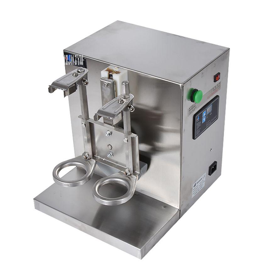 Double-frame Auto Bubble Tea Milk Shaker Machine Tea Shaker Shaking Making Machine Double-frame
