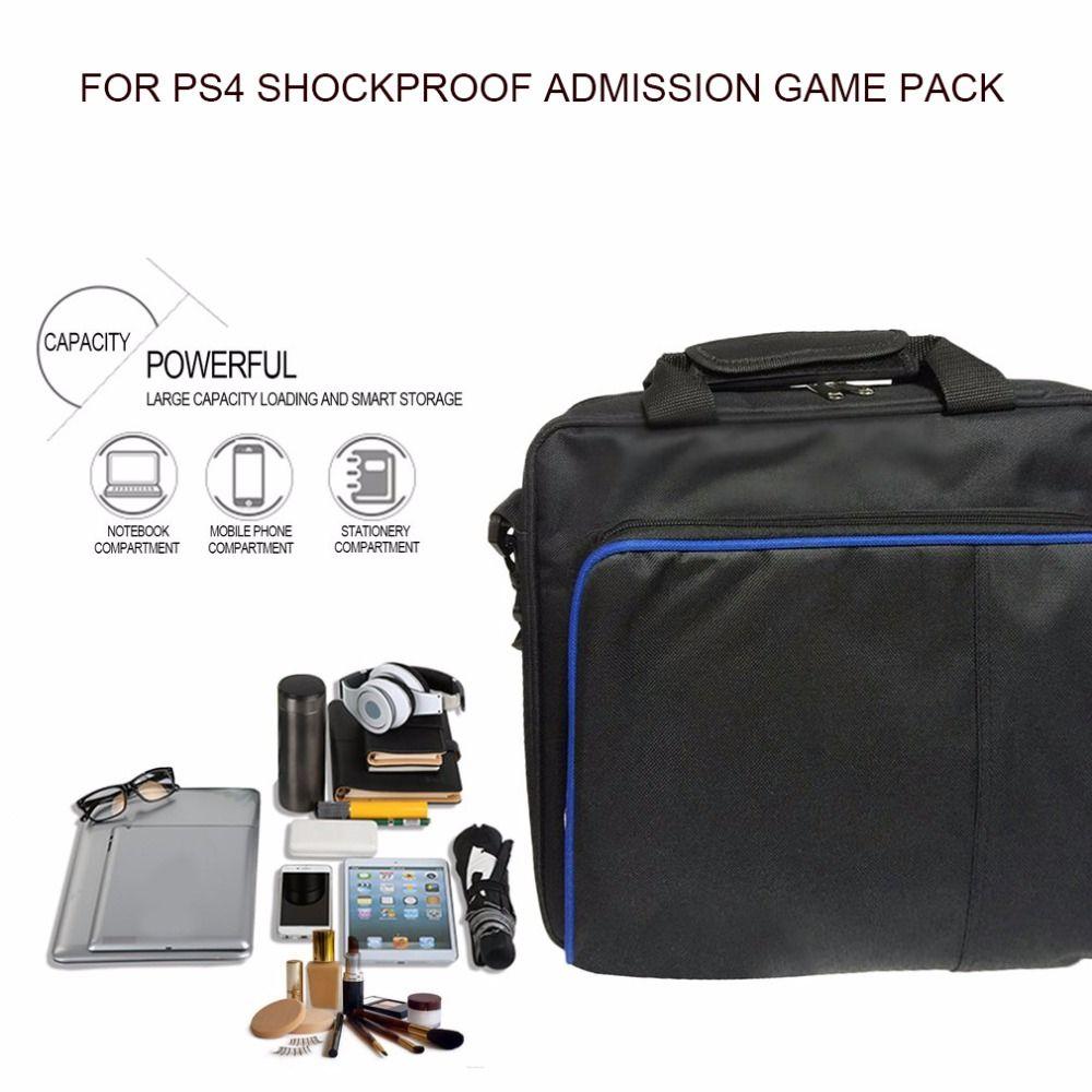 Высокое Качество Защитный игры сумка чехол для хранения Сумки на плечо для PS4 консоли контроллера для Игровые приставки