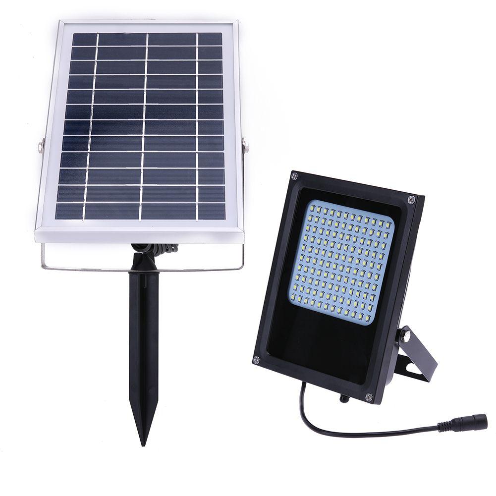 15W Waterproof Solar LED Light 120 Leds Solar Powered Panel Flood Light Night Sensor Outdoor Garden Landscape Spotlights Lamp
