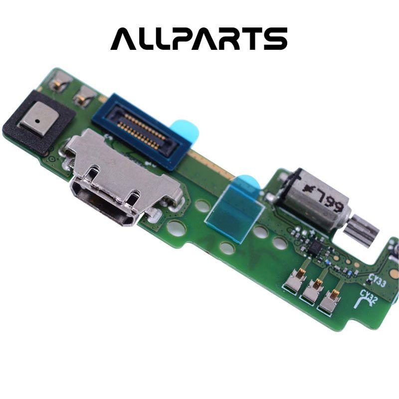 100% Testé ALLPARTS USB D'ORIGINE De Charge Flex Câble pour SONY Xperia E5 F3311 F3313 Chargeur Dock avec Vibrateur Microphone