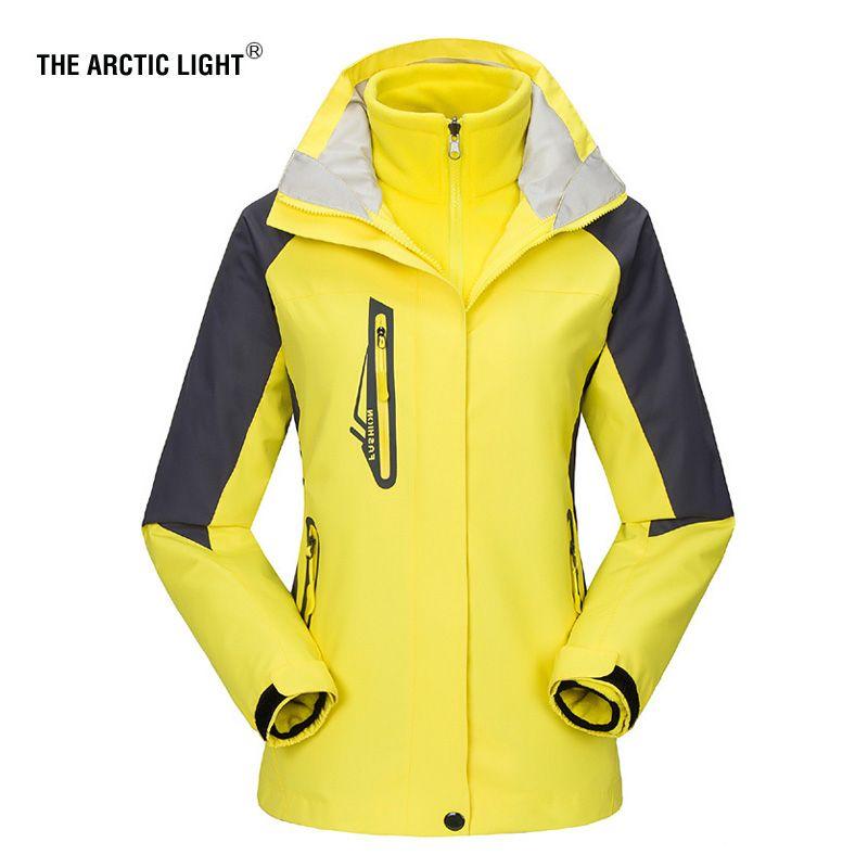 THE ARCTIC LIGHT New Women ski Jackets Outdoor Hiking Trekking Warm Snowboard Coat Waterproof Snow Jacket Sportswear Winter