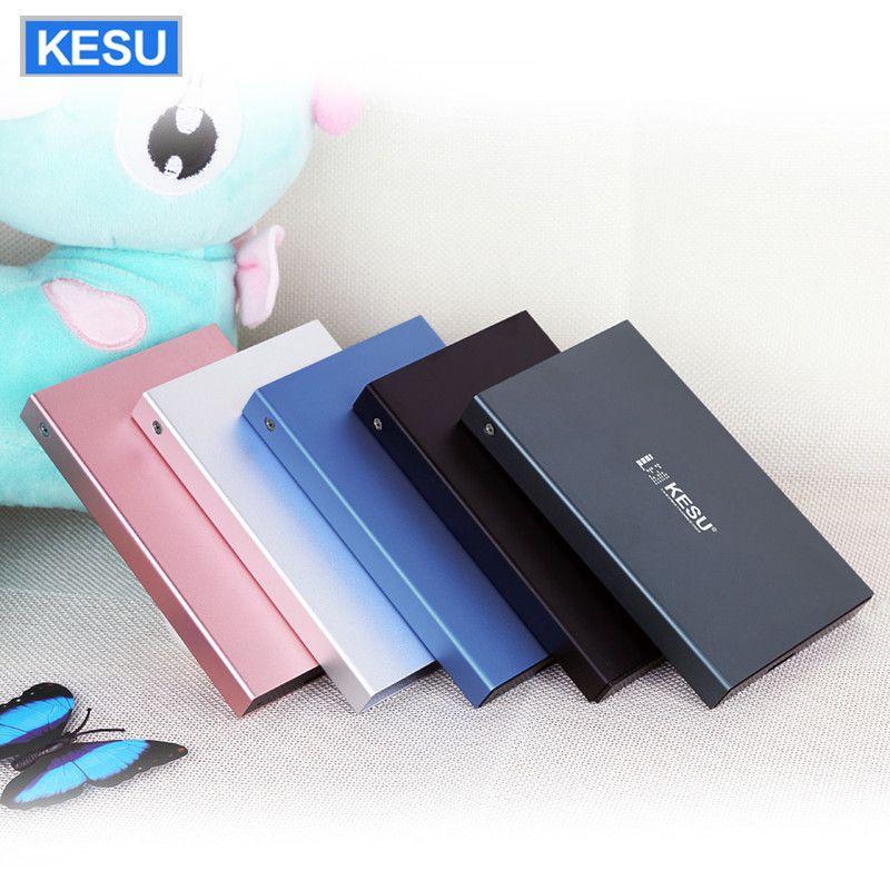 KESU External Hard Drive Disk  HDD USB2.0 60g 160g 250g 320g 500g 750g 1tb 2tb HDD Storage for PC Mac Tablet  TV box hard disk