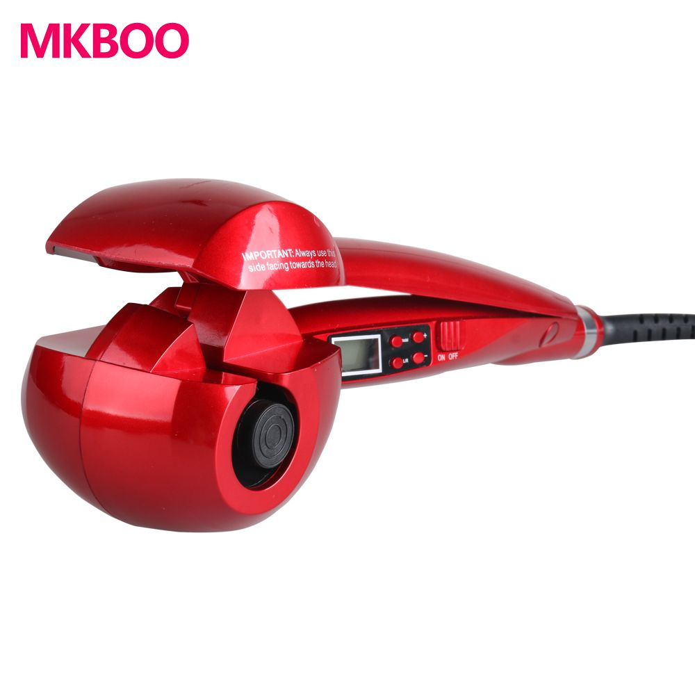MKBOO LCD Screen Automatic Hair Curler Heating Hair Care Styling Tools Ceramic Wave Hair Curl Magic Curling Iron Hair Styler
