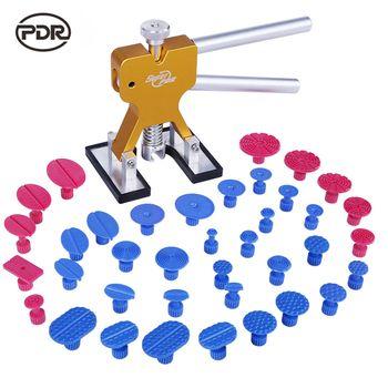 PDR Outils Débosselage Débosselage sans peinture Outils kit De Réparation De Carrosserie Dent Puller Colle Onglets Ventouse Tool Set