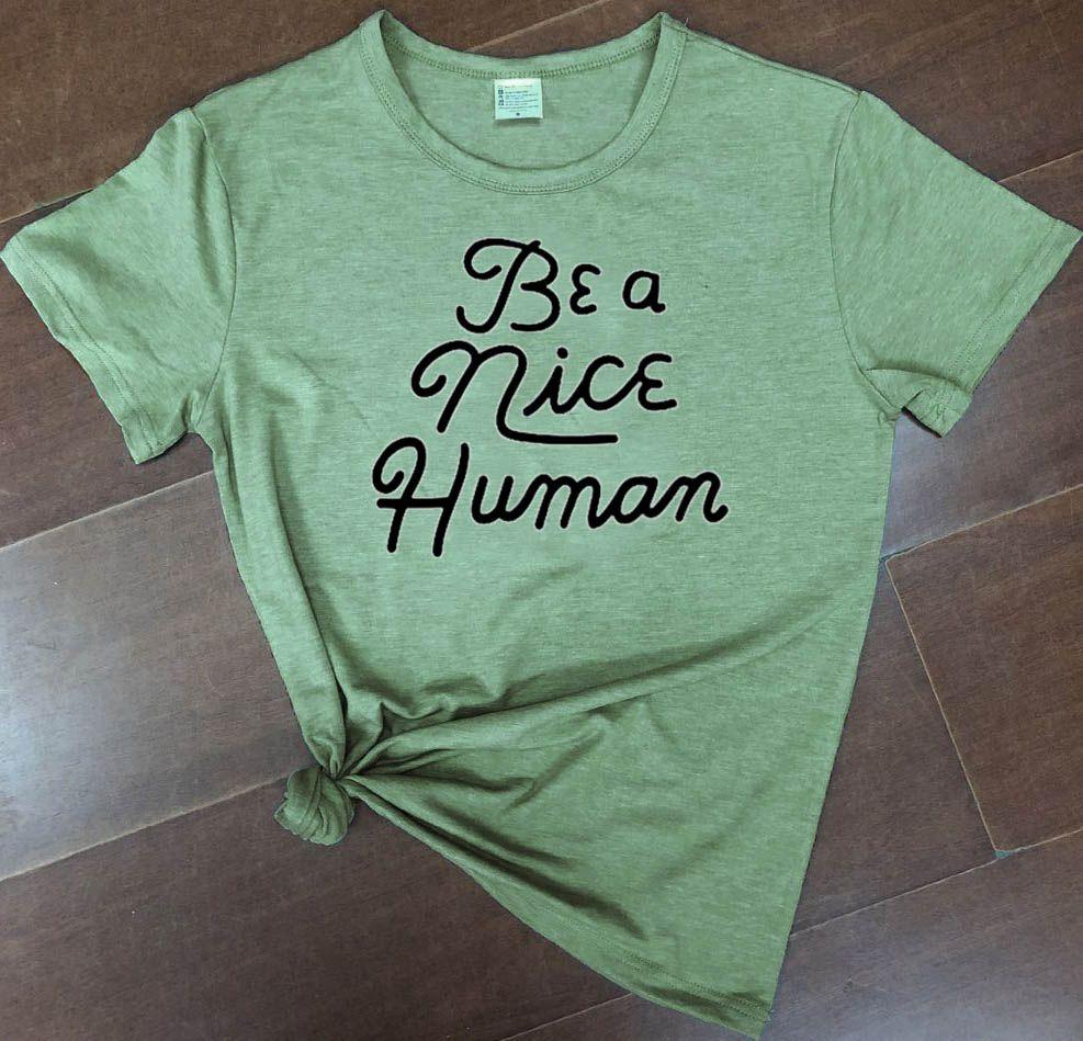 Pur coton être une belle femme humaine mode grunge tumblr coton décontracté drôle slogan religion fête hipster t-shirts vintage t-shirt