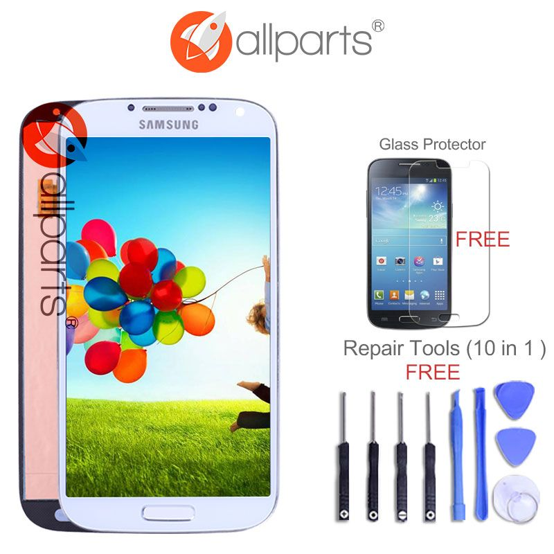 ORIGINAL 5.0'' Super AMOLED LCD for SAMSUNG Galaxy S4 LCD Display GT-i9505 i9500 i9505 i9506 i9515 i337 Touch Screen Digitizer