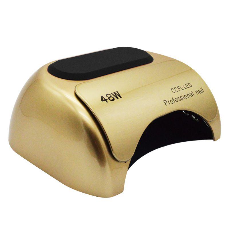 2018 neue 48 watt CCFL UV LED Lampe Nagel Trockner Für Nagel Gel Curing Uv Nägel Lampe Trockner Kunst maniküre Werkzeuge