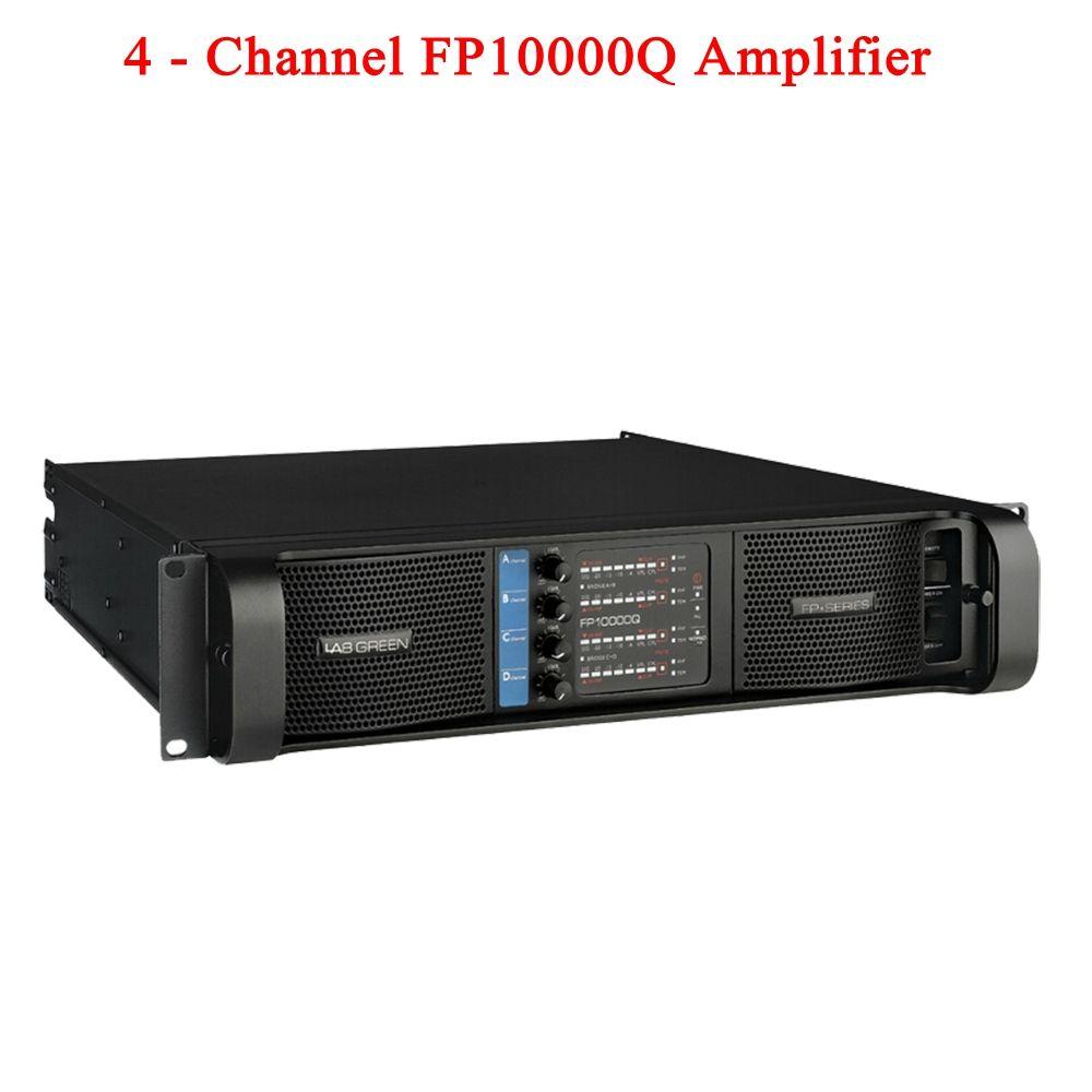 Hohe qualität 4 Kanal 4x2500 Watt Klasse FP 10000q Linie Array Sound System Audio Professionelle Disco Dj Power verstärker FP10000Q