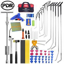 PDR Batang Hook Alat Paintless Dent Perbaikan Penyok Mobil Perbaikan Penyok Penghapusan Reflektor Papan Dent Puller Lifter Glue Gun Tekan down Tool