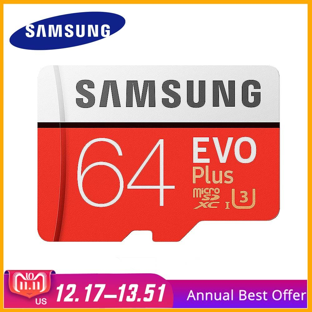 Original SAMSUNG Micro SD Card Memory Card 64GB Class10 TF Card C10 SDXC UHS-I For Samsung galaxy S3 J1J3 Pro J5 S4 Mobile Phone