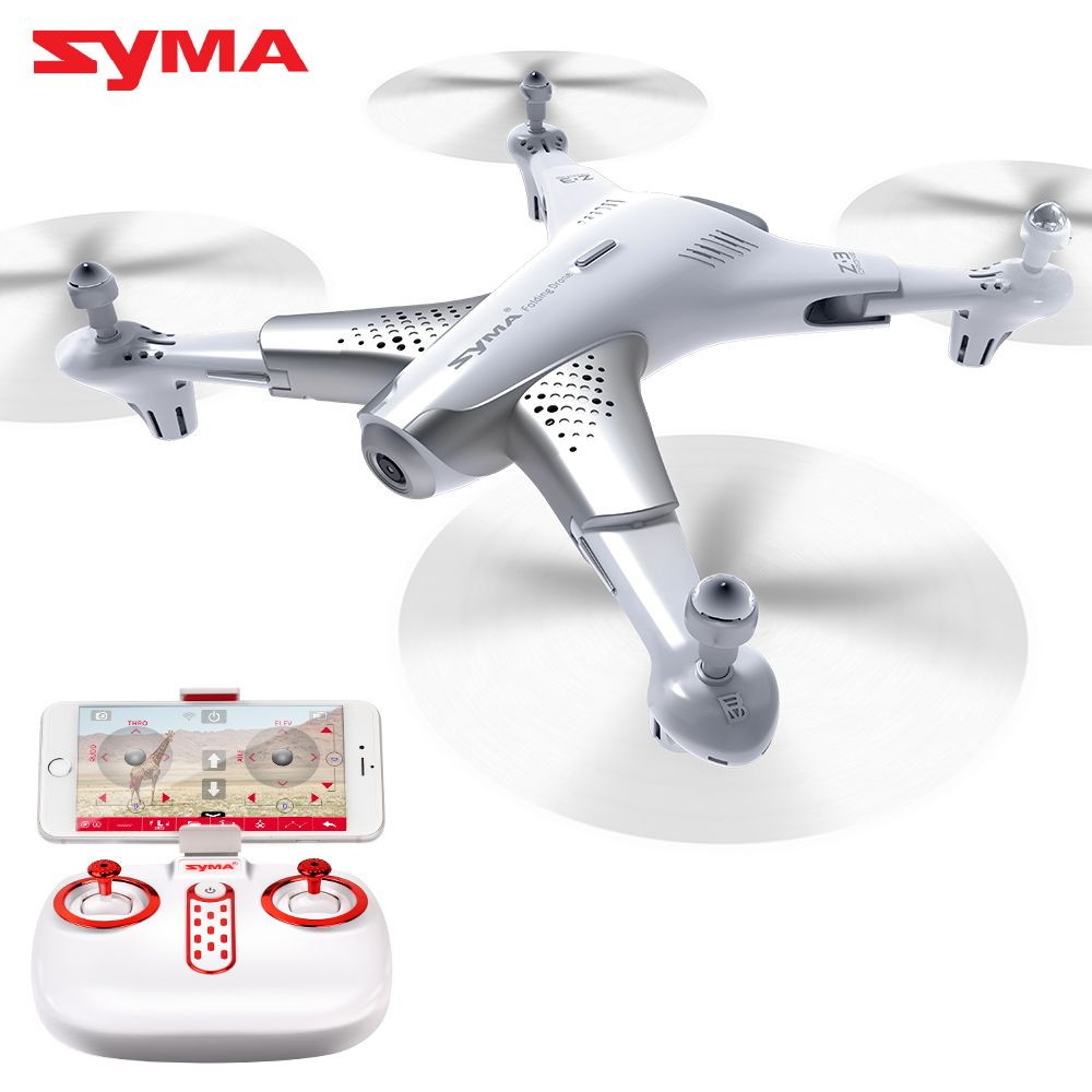 2018 New Arrival Z3 SYMA Official Quadrocopter With HD Camera 720p Video Drone Drones With Real-time Transmit FPV Foldable Dron