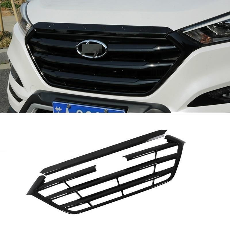 Grille exterior durable modified automobile decoration protecter accessories car styling parts 15 FOR Hyundai Tucson