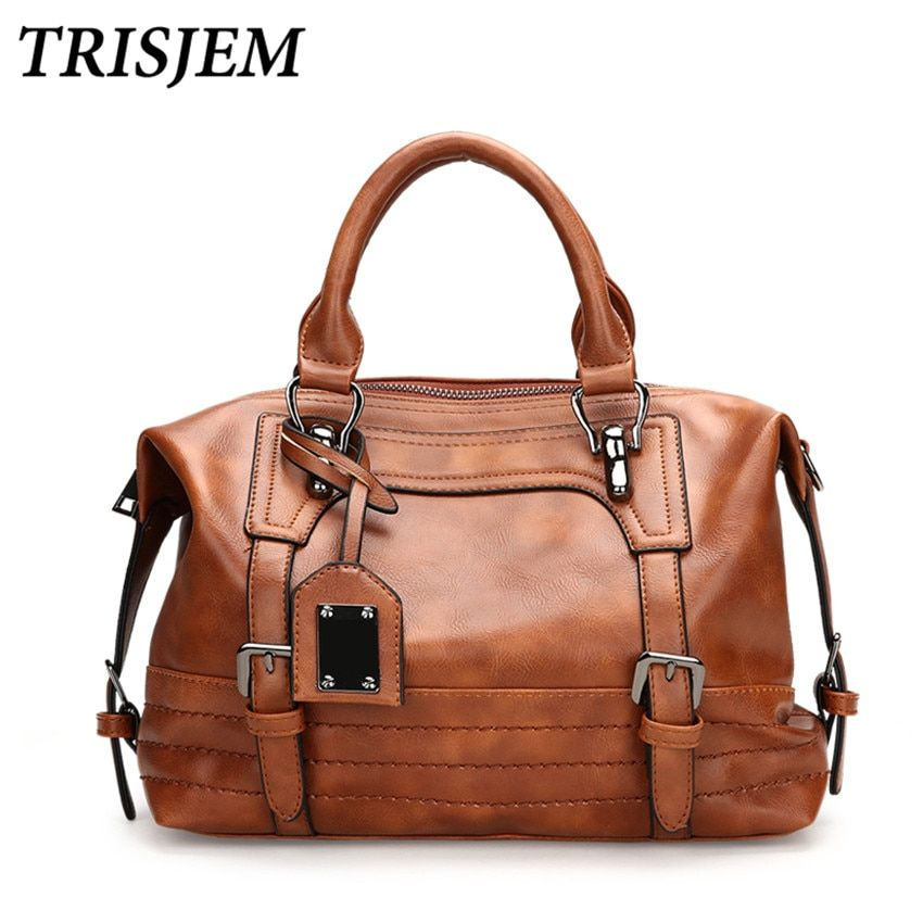 Women Leather Handbags Women Crossbody Bag Female Shoulder Bag Vintage Luxury Brand Handbag Tote sac a main Ladies Hand Bags