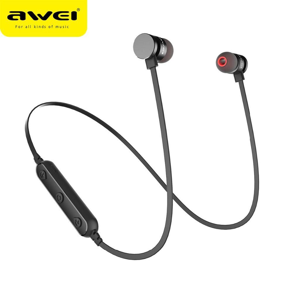 Date AWEI T11 Casque sans fil Bluetooth Casque écouteur Fone de ouvido sport musique V4.2 Auriculares Bluetooth Casque