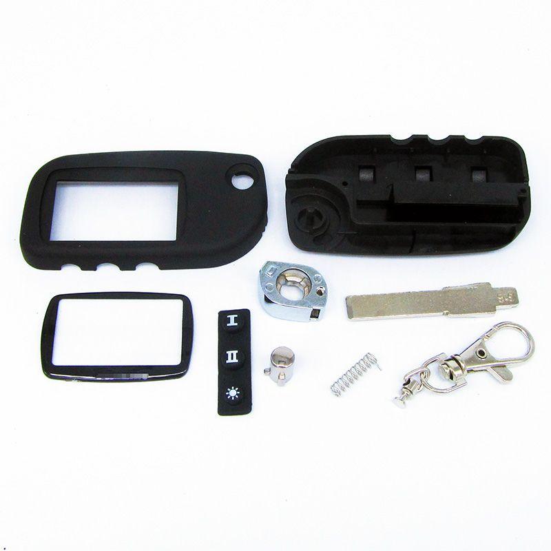 Бесплатная доставка Новое поступление чехол для Starline A9 A8 A6 режиссерский лезвие брелок чехол A9 брелок сигнализации Switchblade ключ + A9 A6 A8 Стекло