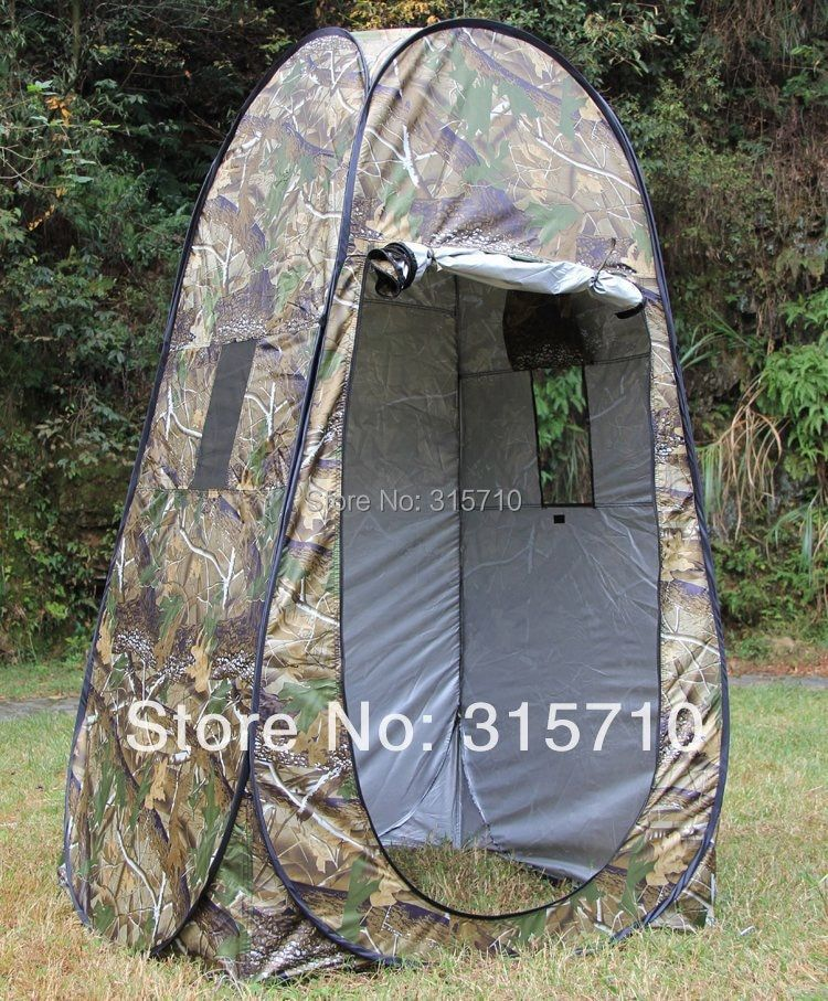 Portable Privacy <font><b>Shower</b></font> Toilet Camping Pop Up Tent Camouflage/UV function outdoor dressing tent/photography tent