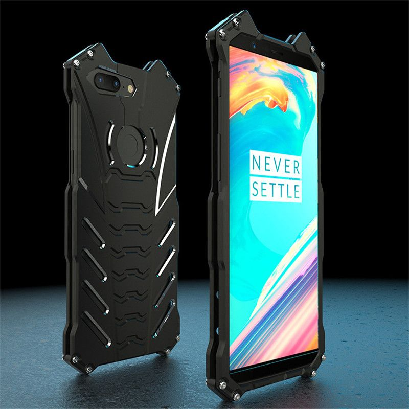 One Plus 5T Metal Cases For Oneplus 5T Case On Oneplus-5t Cool Batman Holder Bumper Cover 6.01 Inch Alloy Armor Phone Capa Funda
