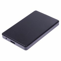 2.5 inch Super High Speed USB 3.0 Interface SATA HD Box HDD Hard Drive External Enclosure Case Caddy SATA with USB Cable
