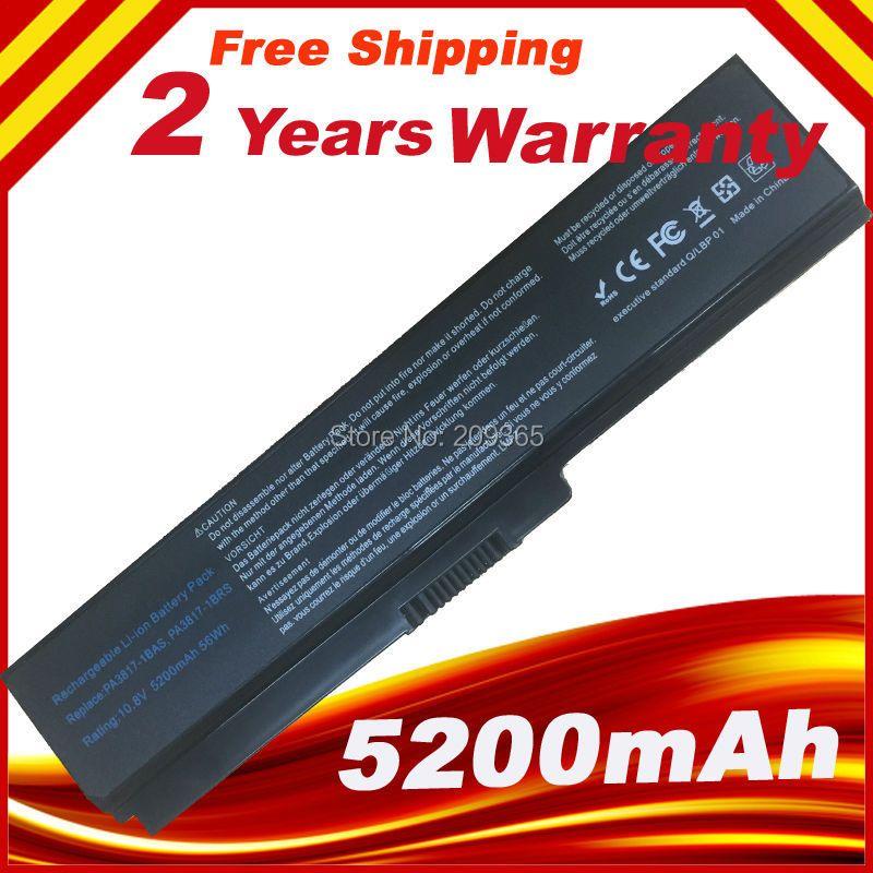 PA3817 PA3817U PA3817U-1BRS 3817 Laptop akku Für TOSHIBA Satellite L645 L655 L700 L730 L735 L740 L745 L750 L755