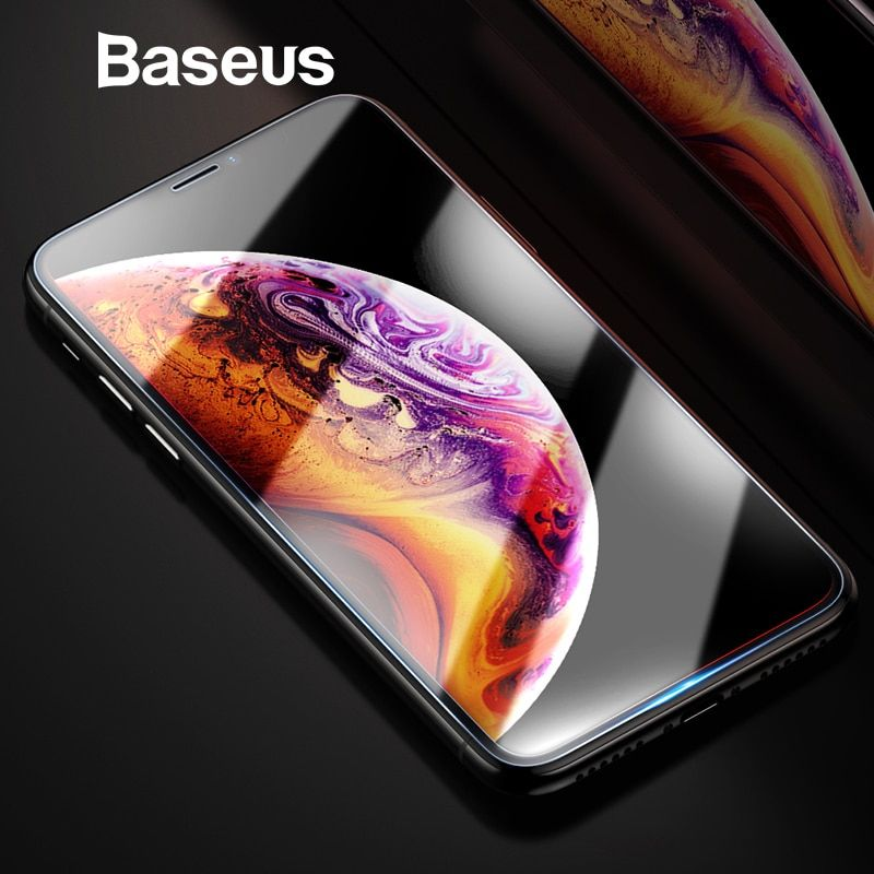 Baseus Screen Protector Für iPhone Xs Max Xs XR Glas 0,3mm Dünne 9 H Gehärtetem Glas Für iPhone Xs max X Schutz Glas 2018