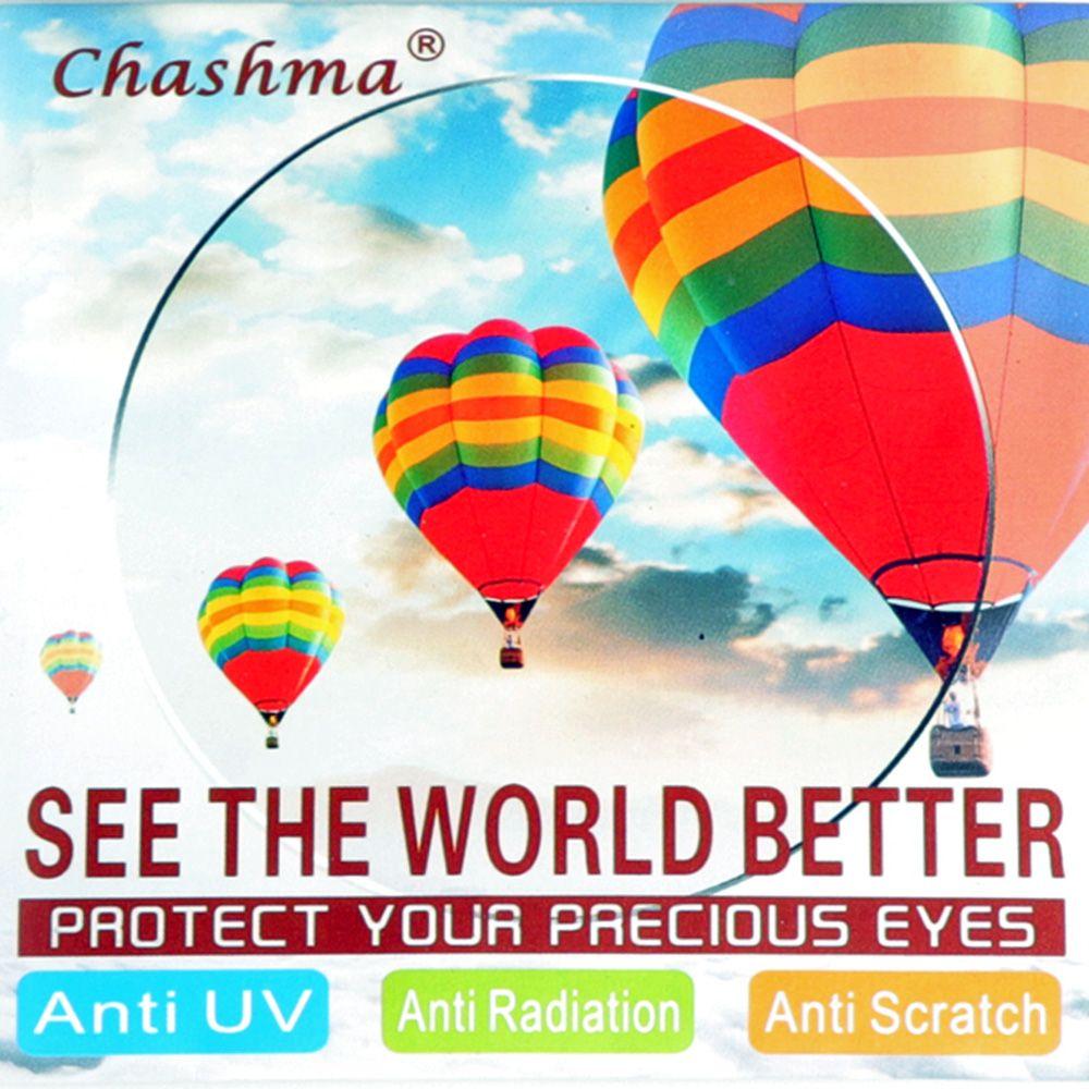 Chashma marque qualité lentilles 1.61 indice clair lentille yeux lunettes optiques personnaliser myopie lentilles de Prescription