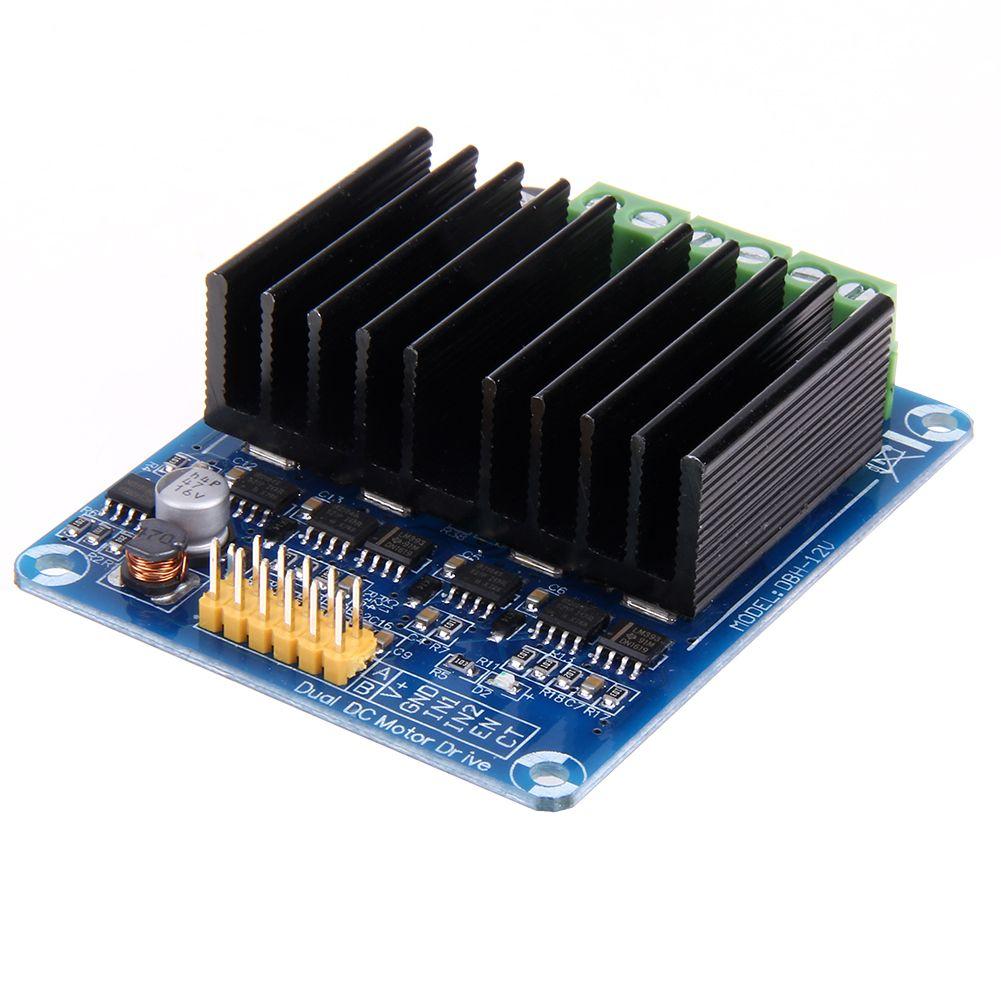 1 шт. двухканальный Н Мост постоянного тока Шаговые двигатели привода совета Модуль контроллера 30A 5 В-15 В