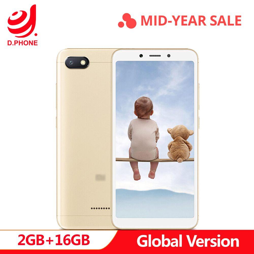 In Stock Original Global Version Xiaomi Redmi 6A 2GB 16GB 5.45