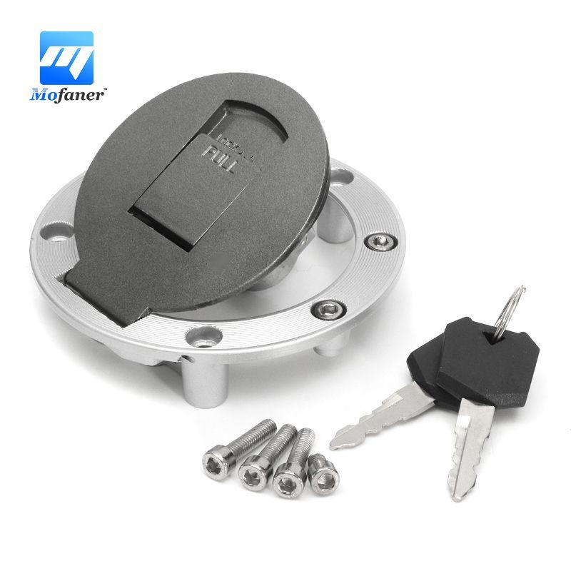 1 Set Fuel Gas Tank Cap Cover Keys For Yamaha FZR250 FZR400 FZR600 FZR750 FZR1000