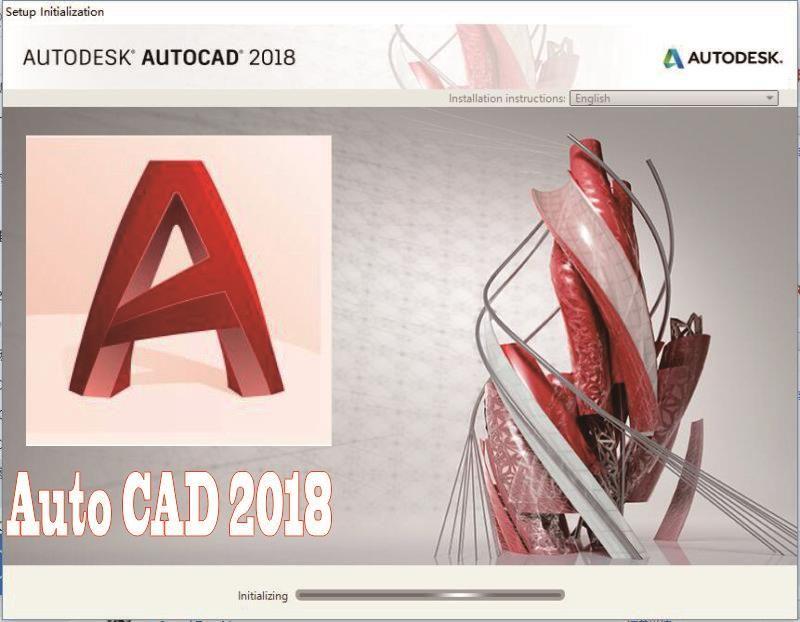 Autodesk_AutoCAD_2018_English English languages for win7/8/10 32/64 bits AutoCAD 2018