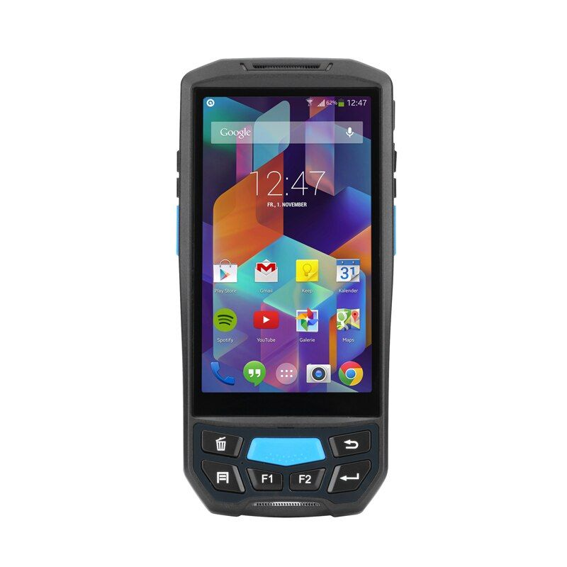 GZPDA02 Android 7.0 Mobile data collector pda terminal 1D barcode reader wifi bluetooth inventory management warehouse system