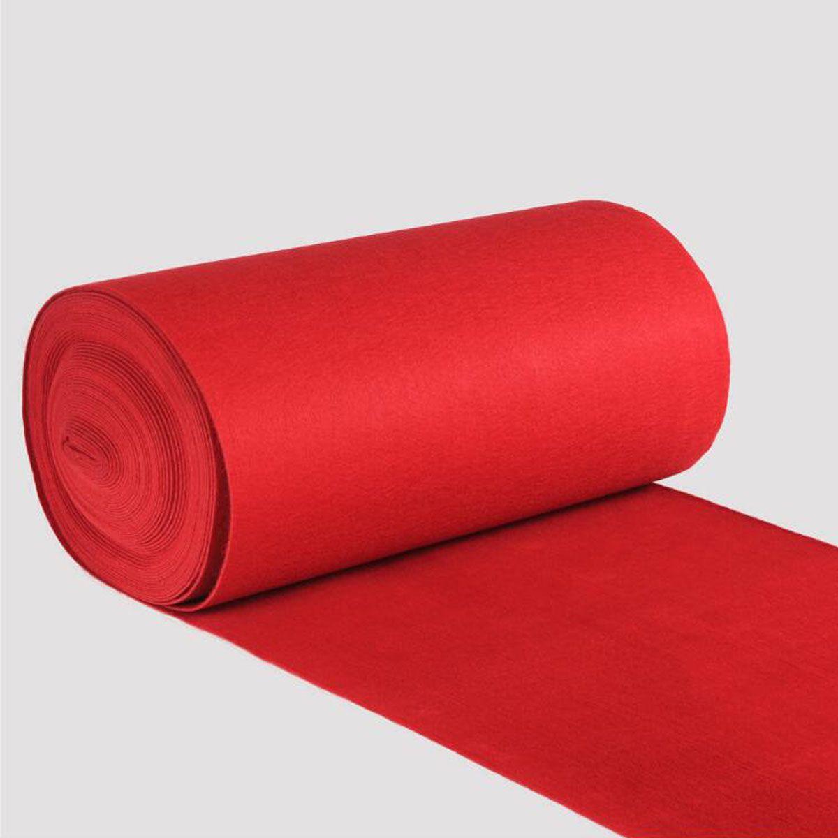 15m/10m Outdoor Red Carpet Mats Aisle for Wedding Banquet Film Festivals Parties Celebrations Awards Events Decoration Carpet