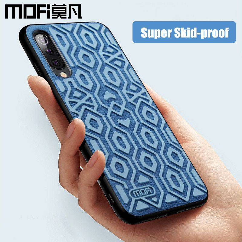 Pour Xiao mi mi 9 housse de protection version mondiale housse de protection en silicone antidérapant en tissu MOFi mi 9 SE et étui Transparent