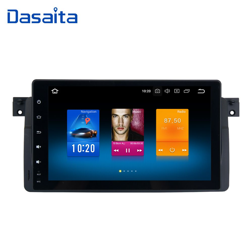 Android 8.0 Car Radio for BMW E46 M3 318i 320i 325i Multimedia 2001 2001 2002 2003 with 9