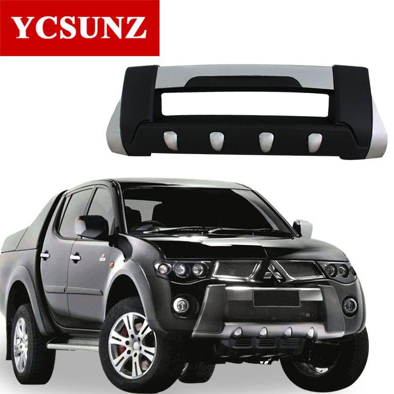 2008 для Mitsubishi L200 Тритон бампер ABS спереди за бампер для Mitsubishi L200 2006 2007 2009 2010 2011 2012 2013 2014 ycsunz