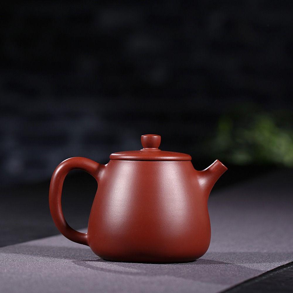 hot Yixing authentic purple sand ore Zhu mud Dahongpao high stone tea pot 200cc famous handmade teapot