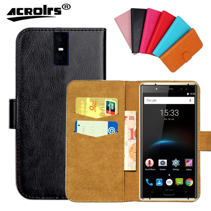Original ! Oukitel K3 Case ,6 Colors High Quality Leather Exclusive Case For Oukitel K3 Cover Phone Bag Tracking