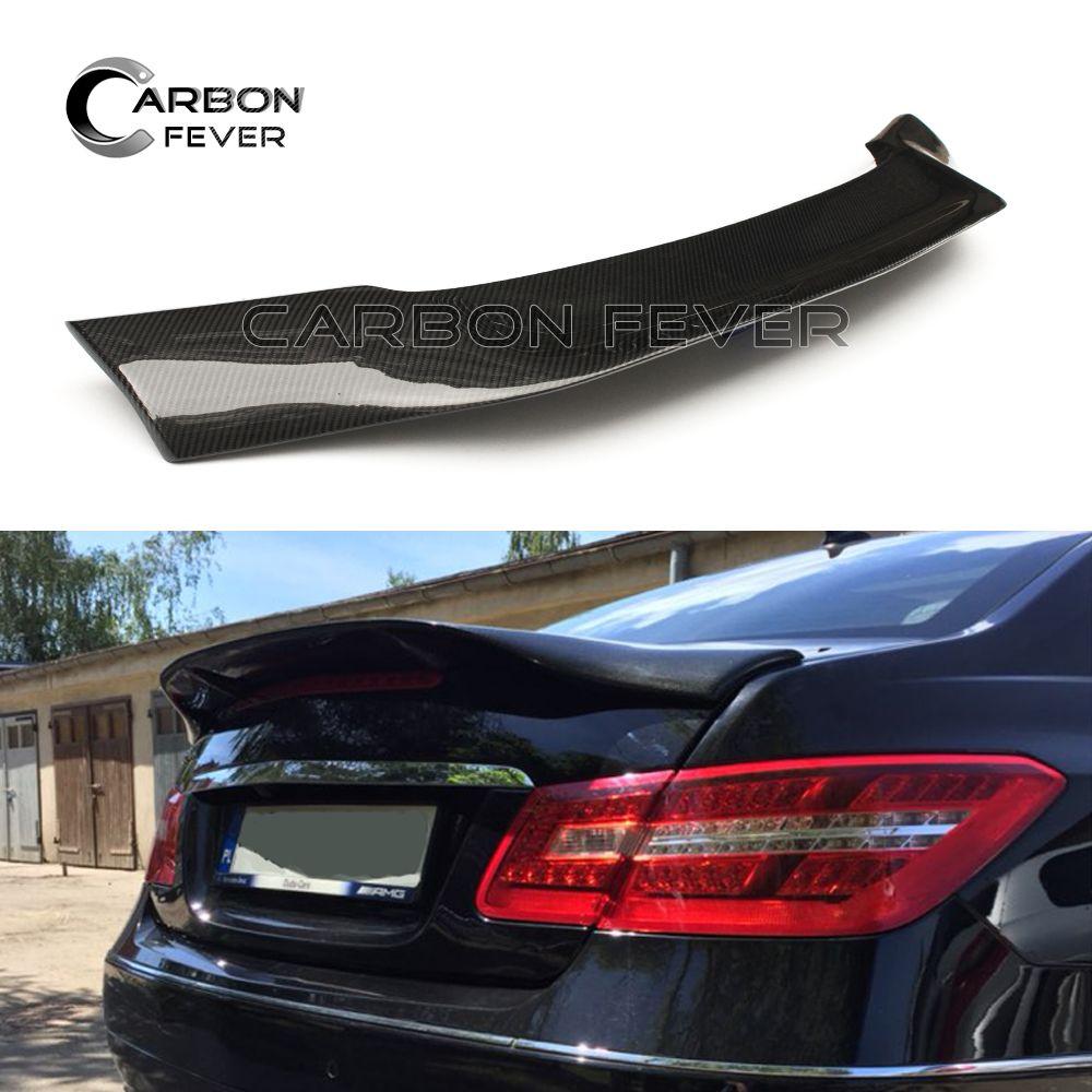 W207 C207 Carbon-stamm-räuber AMG Flügel Für Mercedes E-klasse Coupe 2010-2017 E200 E250 E300
