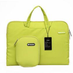 Gearmax Laptop Wanita Tas Messenger 11 12 13 14 15 Inch Membawa Case untuk Macbook Air Pro 13 Tahan Air Notebook tas Komputer 14