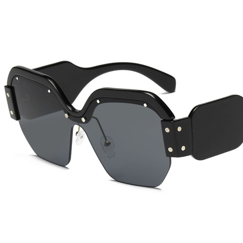 2018Sunglasses female uv protection sunglasses han edition asdqweqw ABM1-17new tide restoring ancient ways round face glasses