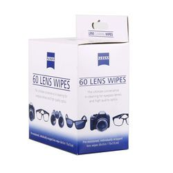 Free shipping 60 counts micro-fine tissue pre-moistened ZEISS lcd tv screen cleaning cloth