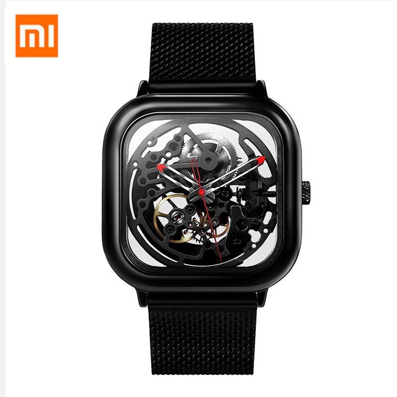 Xiaomi CIGA Wristwatch Hollow Mechanical Stainless Steel Braided Band Automatic Mechanical Core Men's Watch