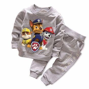 Nouveau Printemps Automne Garçon de Fille Ensembles de Vêtements de Sport Pull Ensemble Mode Enfant 2pic Costumes Set Enfant Rayé Survêtement bébé